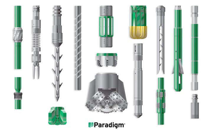 paradigm 3d illustration
