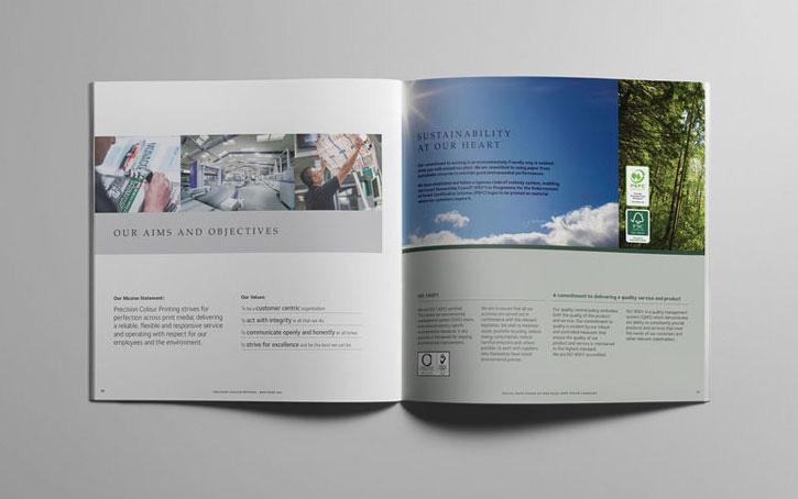 Printing of Corporate Brochures