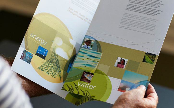 graphic design brochures