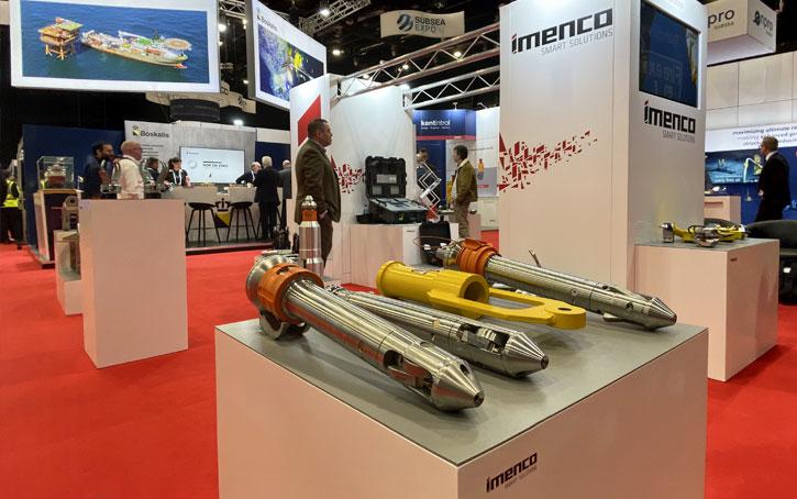 Imenco exhibition stand