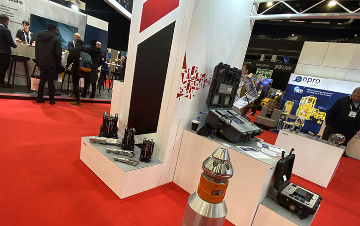 exhibitors product displays