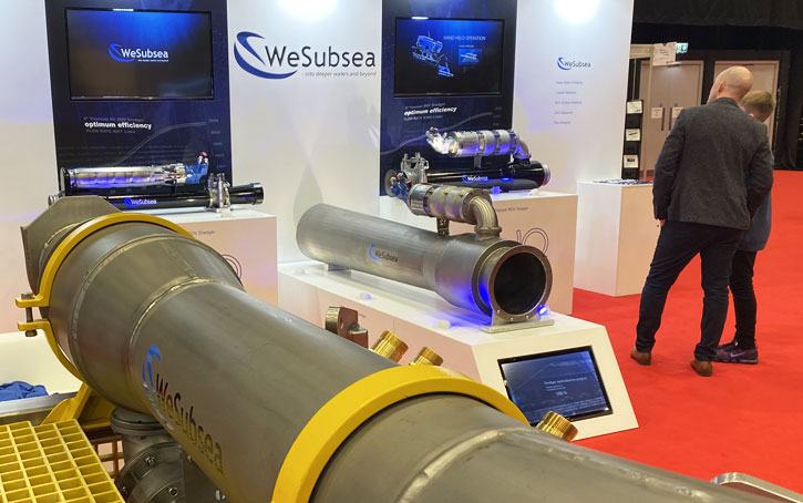 Wesubsea exhibition stand