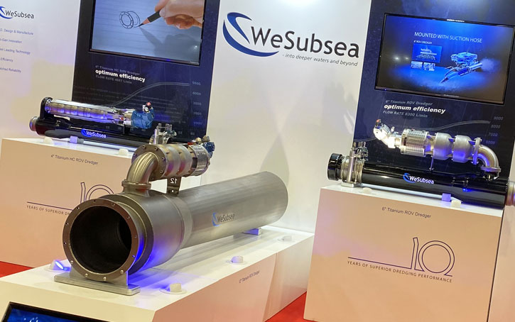 subsea dredgers at subsea expo