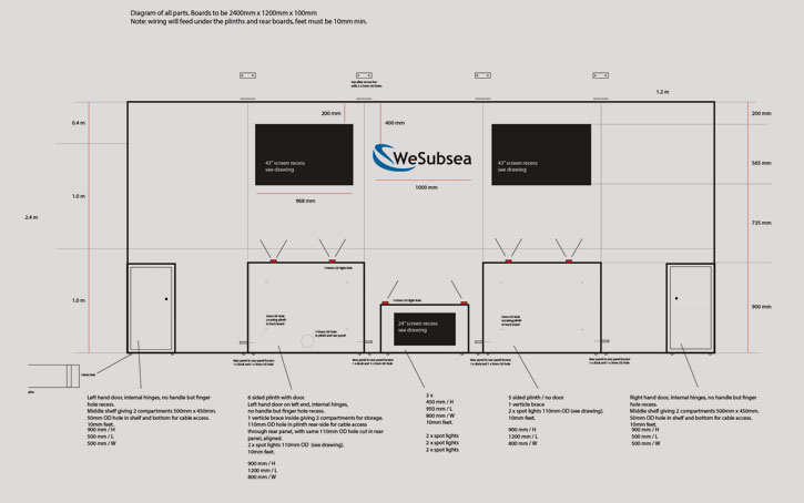 exhibition space design layout