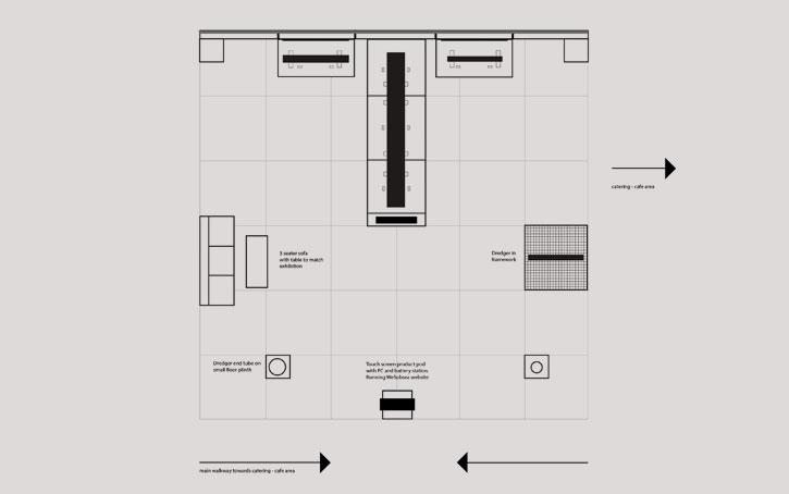 exhibition plan design view
