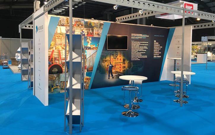 Exhibition Stand Builders Aberdeen : Exhibition stand design installation aberdeen