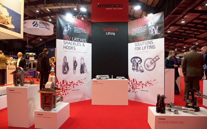 Imenco lifting products stand