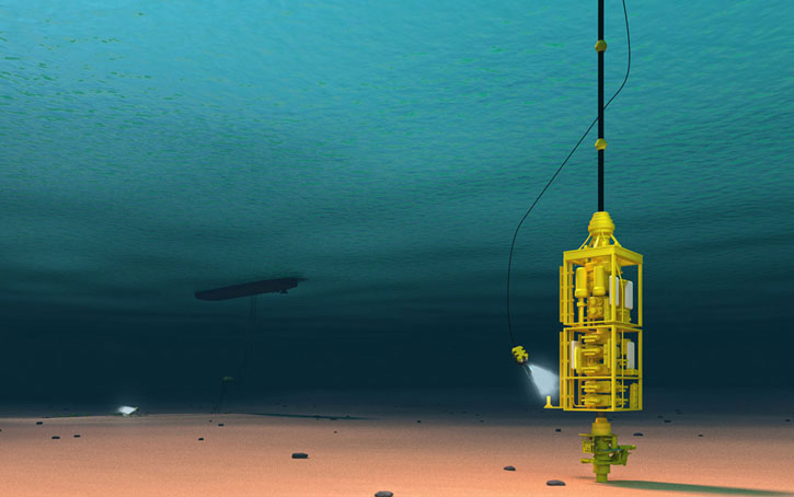 Subsea BOP 3d Illustration