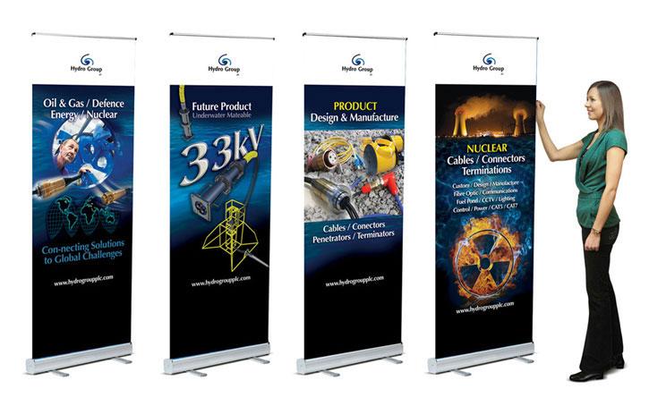 Aberdeen exhibition banners
