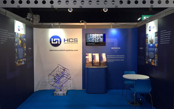 HCS Subsea Expo stand