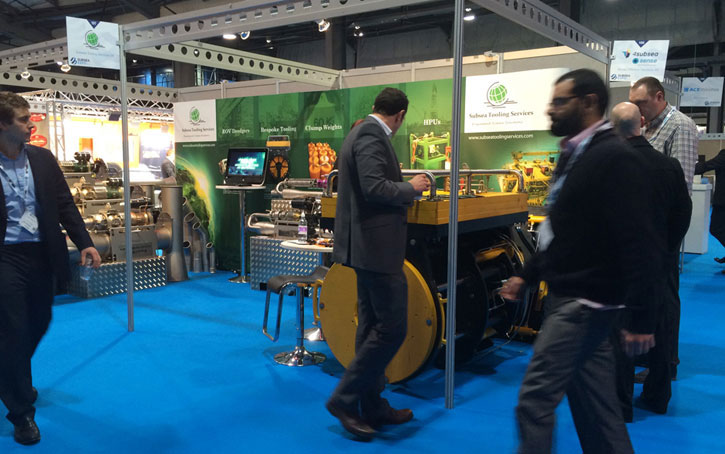 Subsea Tooling Services stand