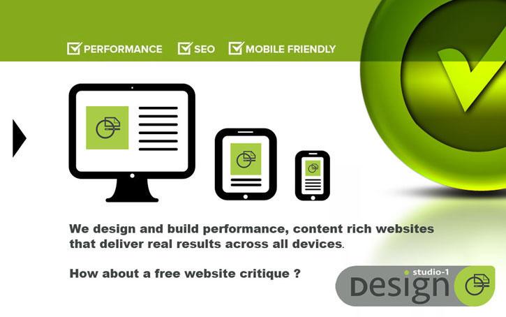 performance web site design