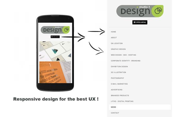 user friendly UX website design